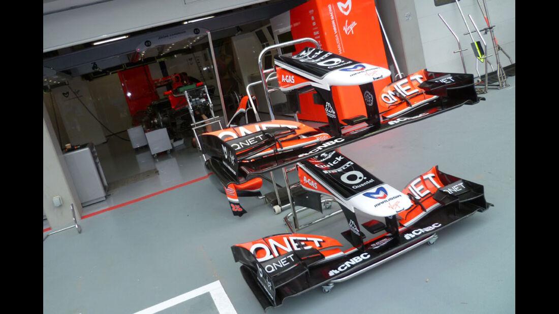 Virgin - GP Singapur - 22. September 2011