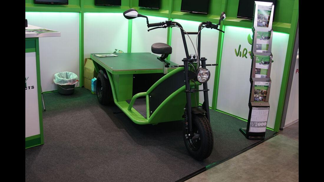 Virto Delivery 2.0 - Electric Vehicle Symposium 2017 - Stuttgart - Messe - EVS30