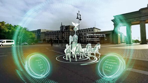 Virtuelle Fahrt