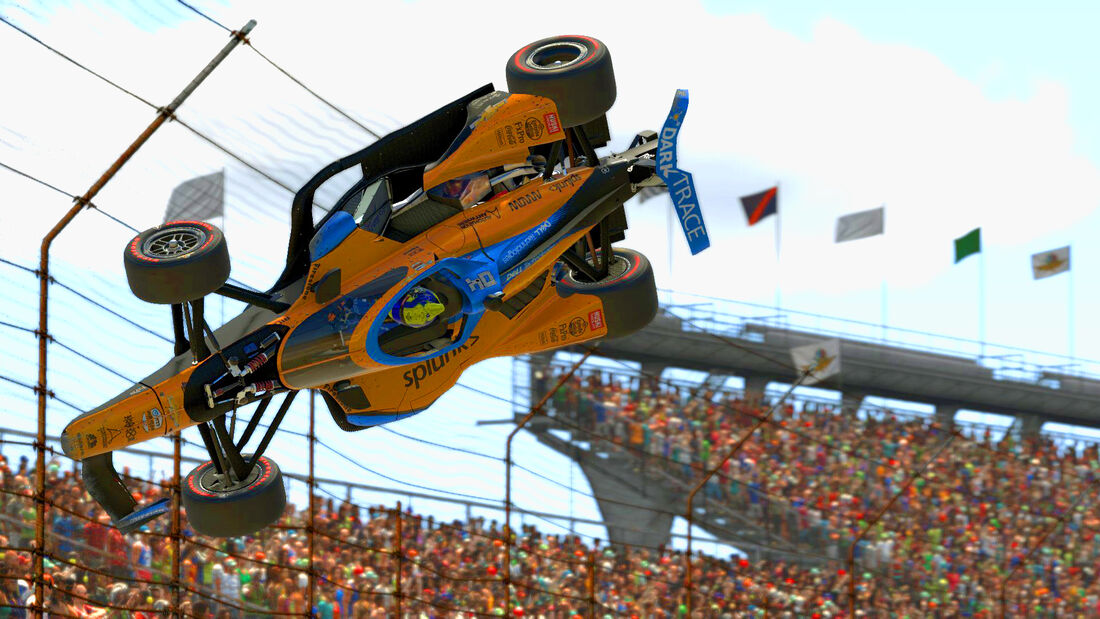 Virtuelle IndyCar-Serie - Indianapolis - 2020