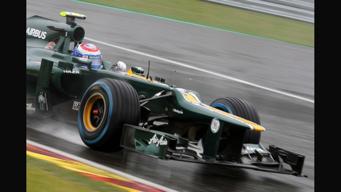 Vitaly Petrov - Caterham - Formel 1 - GP Belgien - Spa-Francorchamps - 31. August 2012