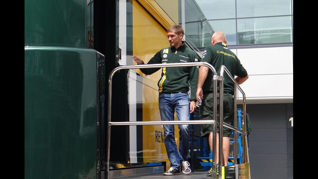 Vitaly Petrov - Caterham - Formel 1 - GP England - Silverstone - 5. Juli 2012