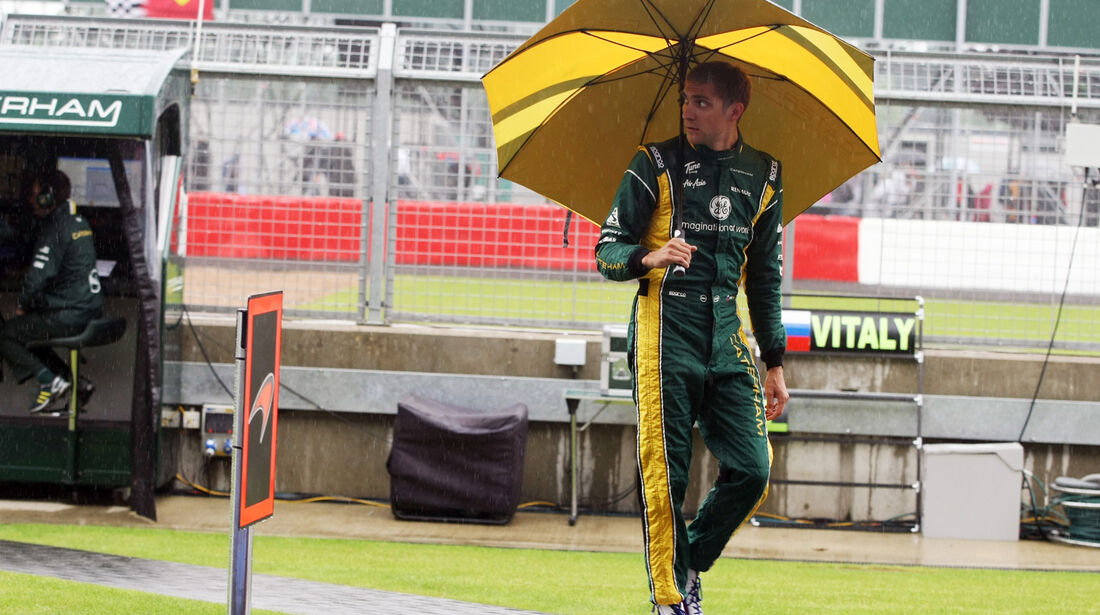 Vitaly Petrov - Caterham - Formel 1 - GP England - Silverstone - 6. Juli 2012