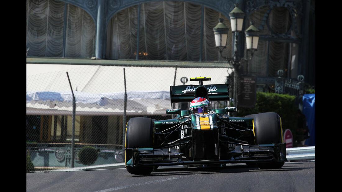 Vitaly Petrov - Caterham - Formel 1 - GP Monaco - 26. Mai 2012