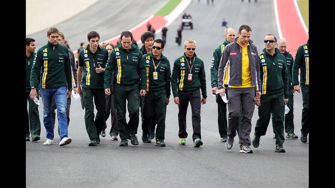 Vitaly Petrov - Caterham - Formel 1 - GP USA - Austin - 15. November 2012