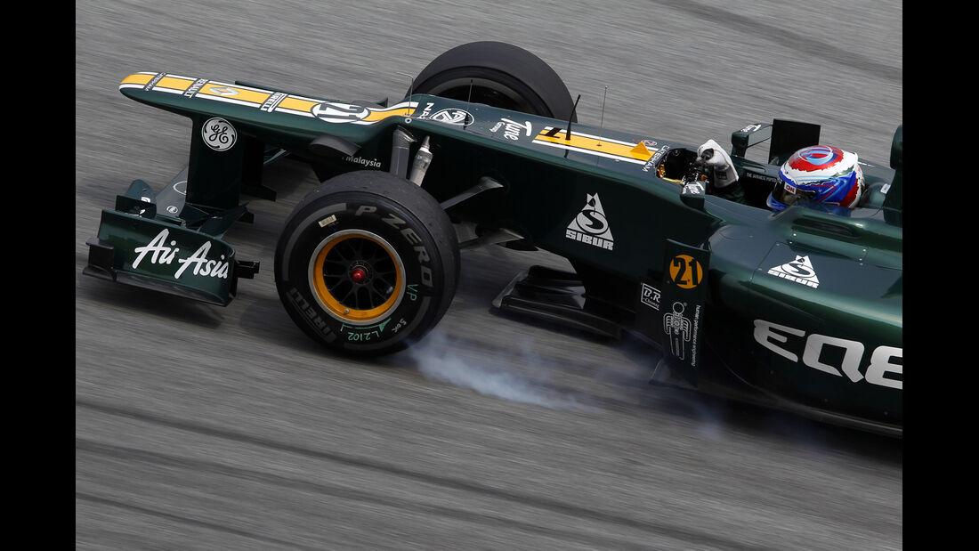 Vitaly Petrov - Caterham - GP Malaysia 2012