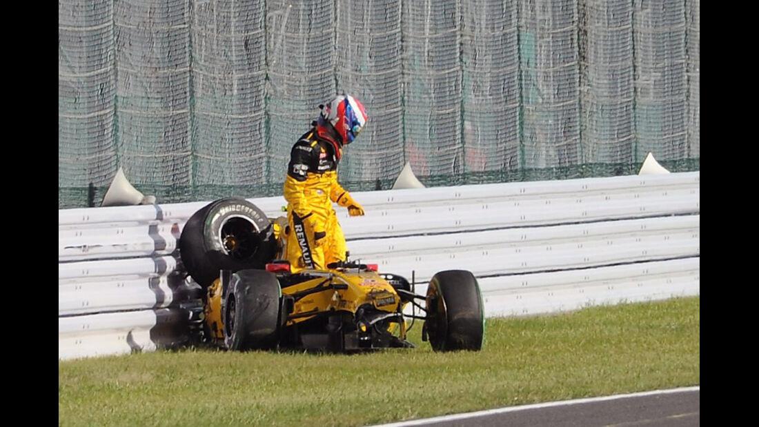 Vitaly Petrov Crash