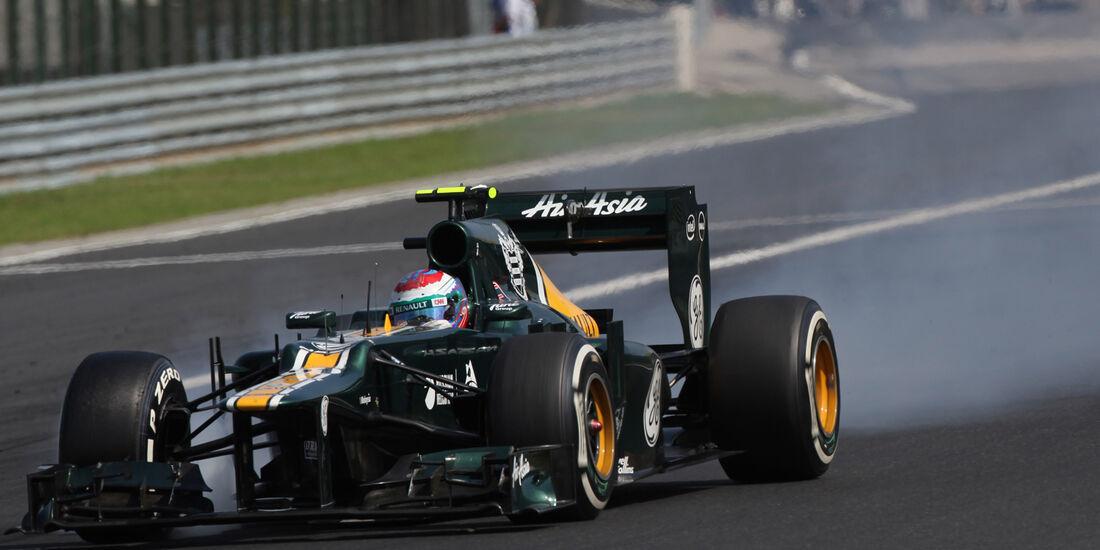 Vitaly Petrov Formel 1 2012