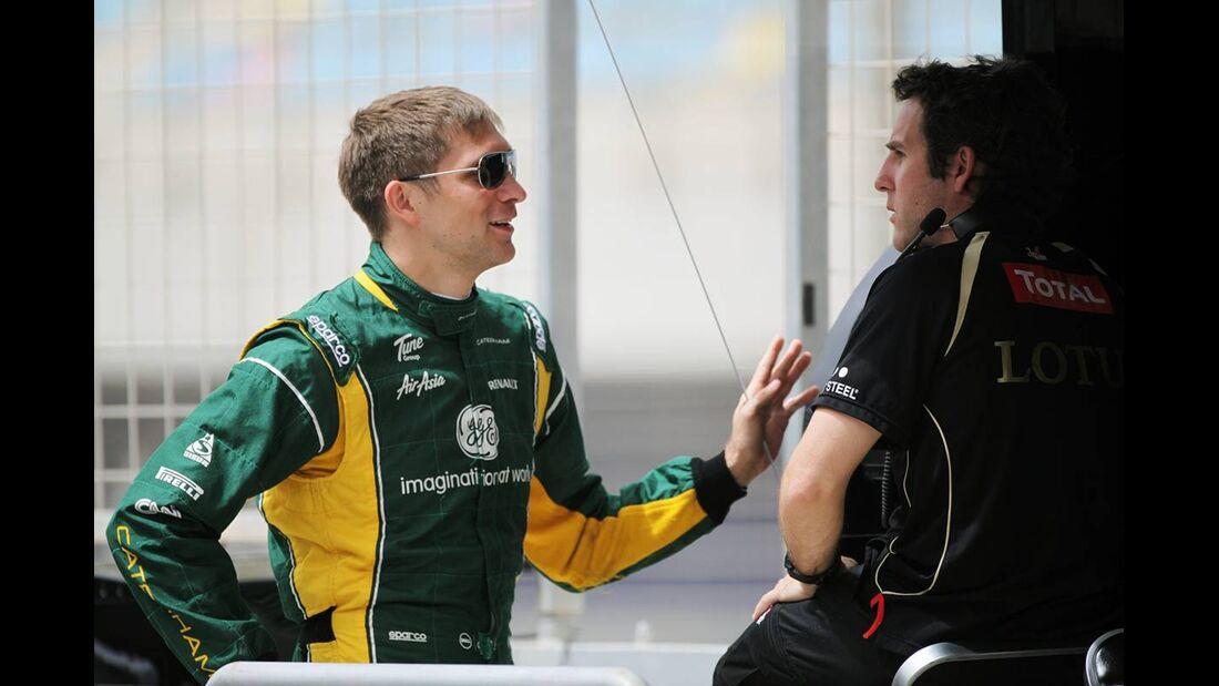 Vitaly Petrov - Formel 1 - GP Bahrain - 20. April 2012