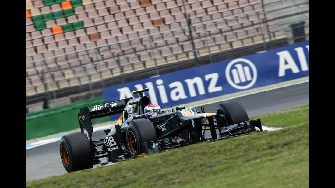 Vitaly Petrov - Formel 1 - GP Deutschland - 20. Juli 2012