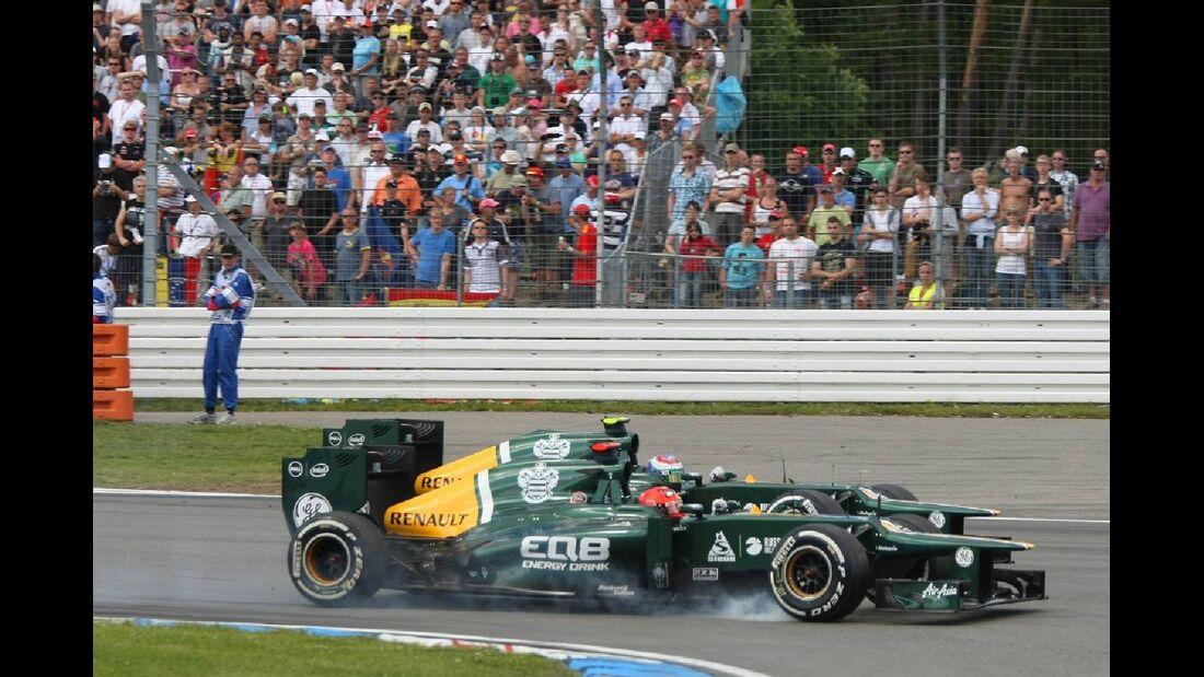 Vitaly Petrov - Formel 1 - GP Deutschland - 22. Juli 2012