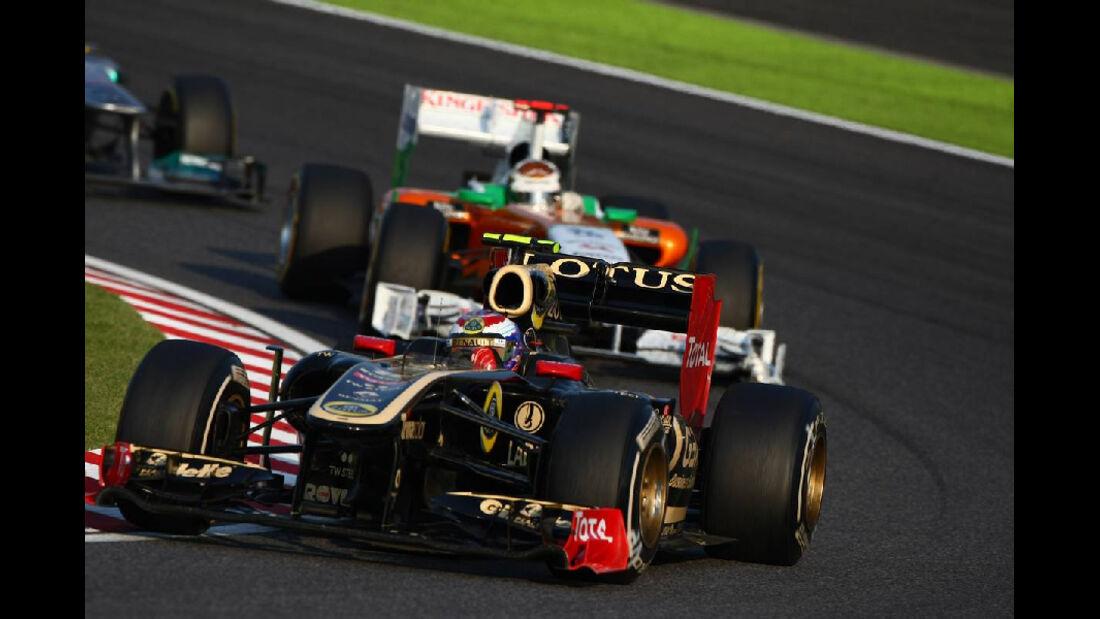 Vitaly Petrov  - Formel 1 - GP Japan - 9. Oktober 2011
