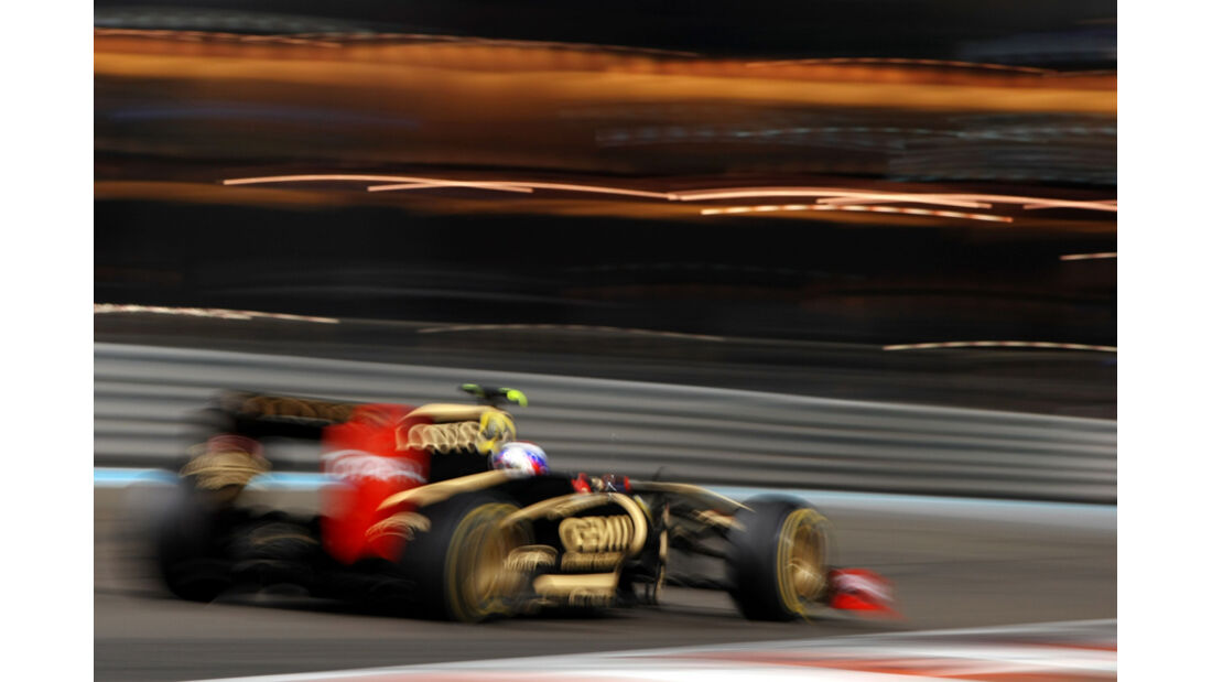 Vitaly Petrov - GP Abu Dhabi - Freies Training - 11. November 2011