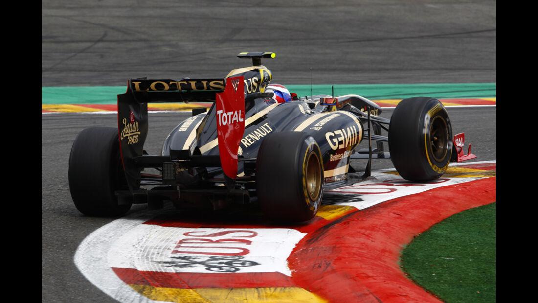 Vitaly Petrov GP Belgien 2011