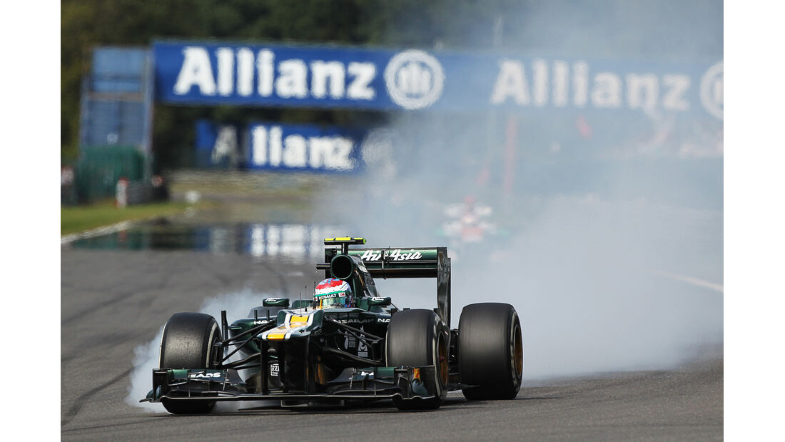 Vitaly Petrov - GP Belgien 2012