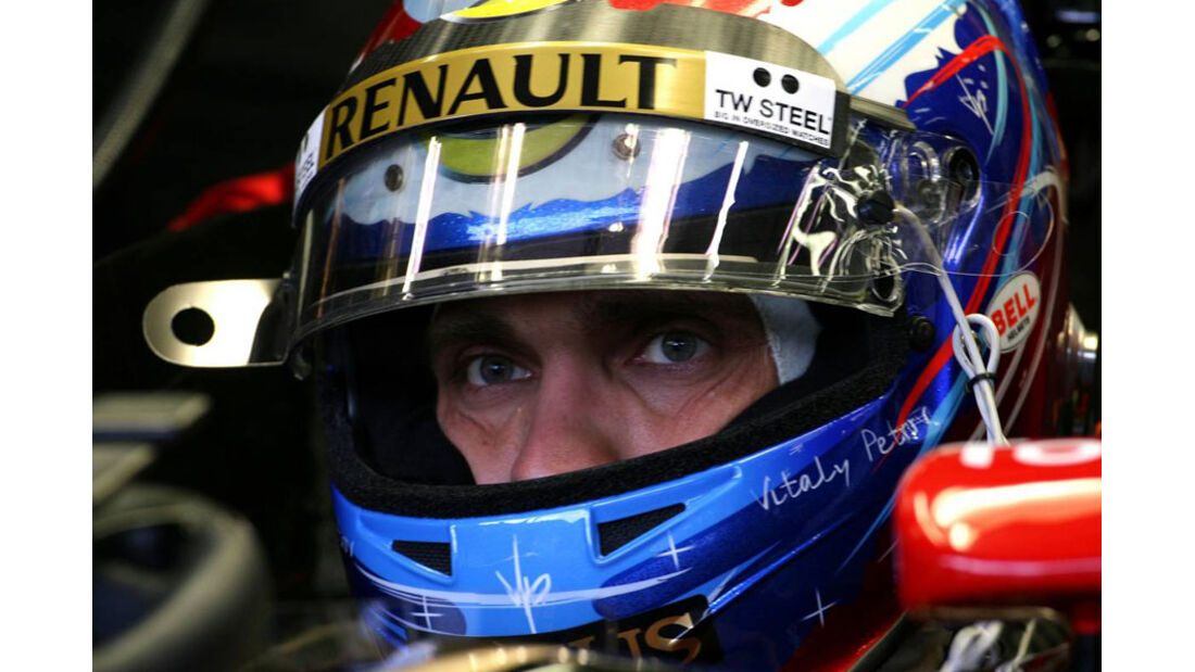 Vitaly Petrov - GP Belgien - 26. August 2011