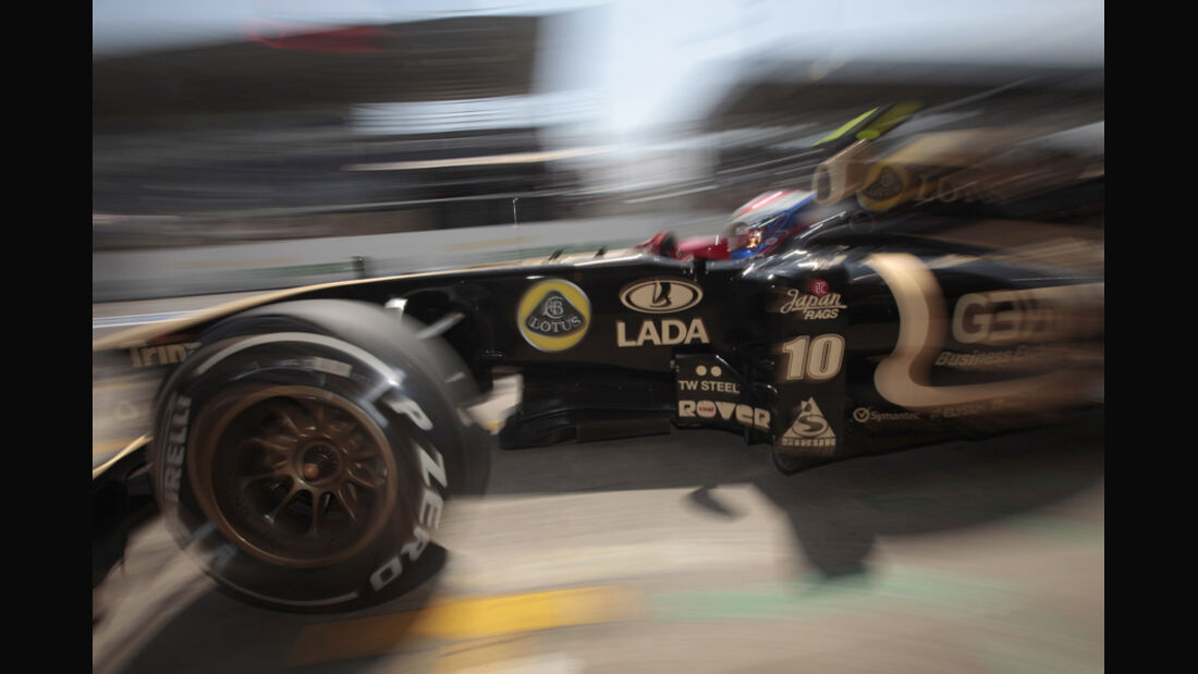 Vitaly Petrov GP Brasilien 2011