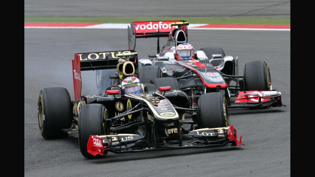 Vitaly Petrov GP Deutschland 2011 Noten