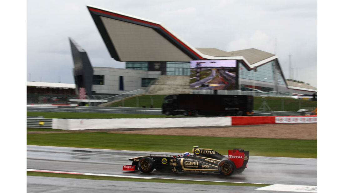 Vitaly Petrov GP England 2011