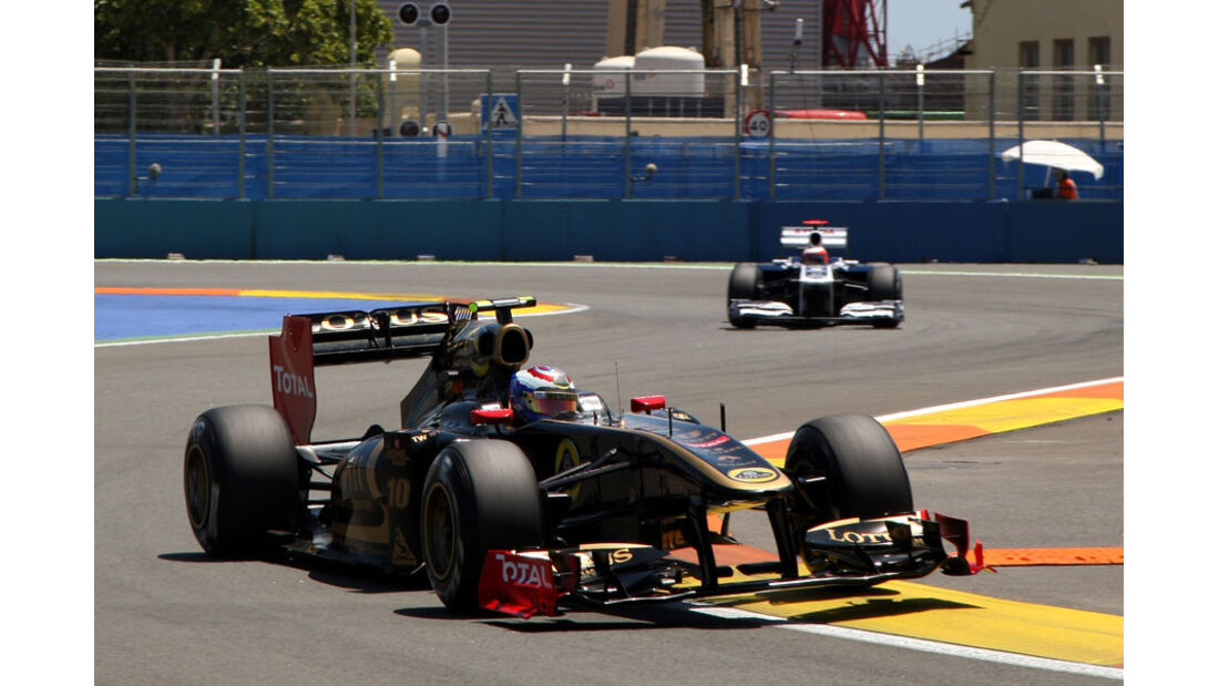 Vitaly Petrov - GP Europa - Qualifying - 25. Juni 2011