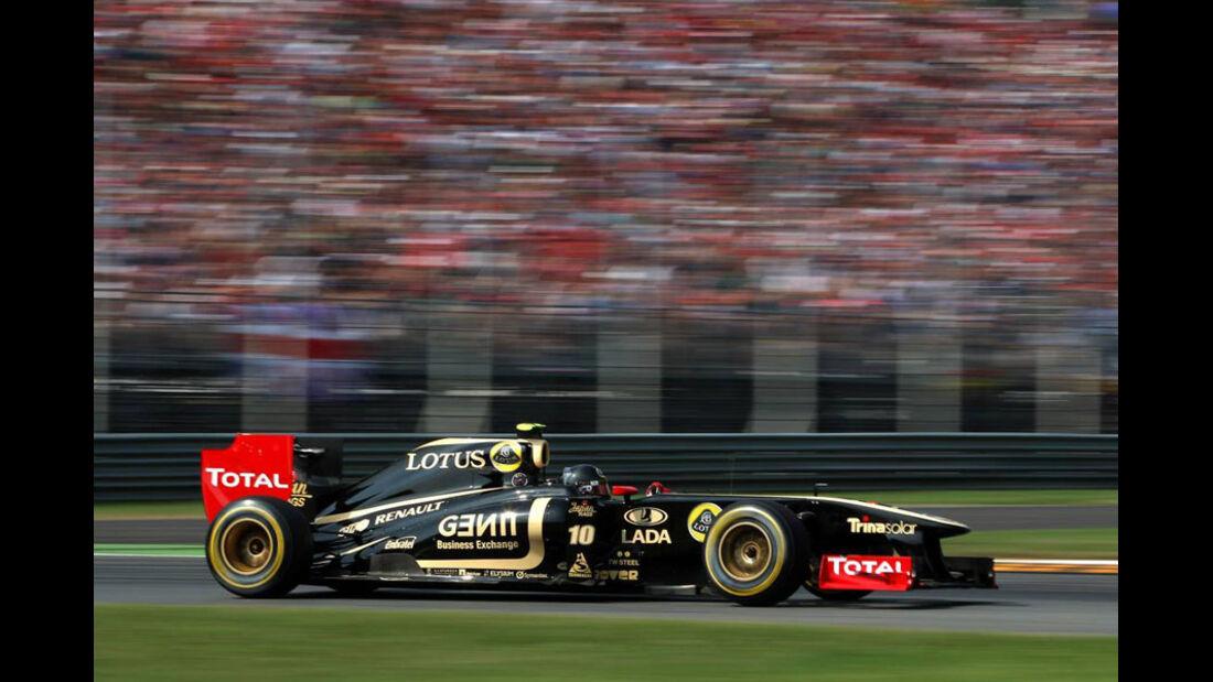 Vitaly Petrov - GP Italien - Monza - 10. September 2011