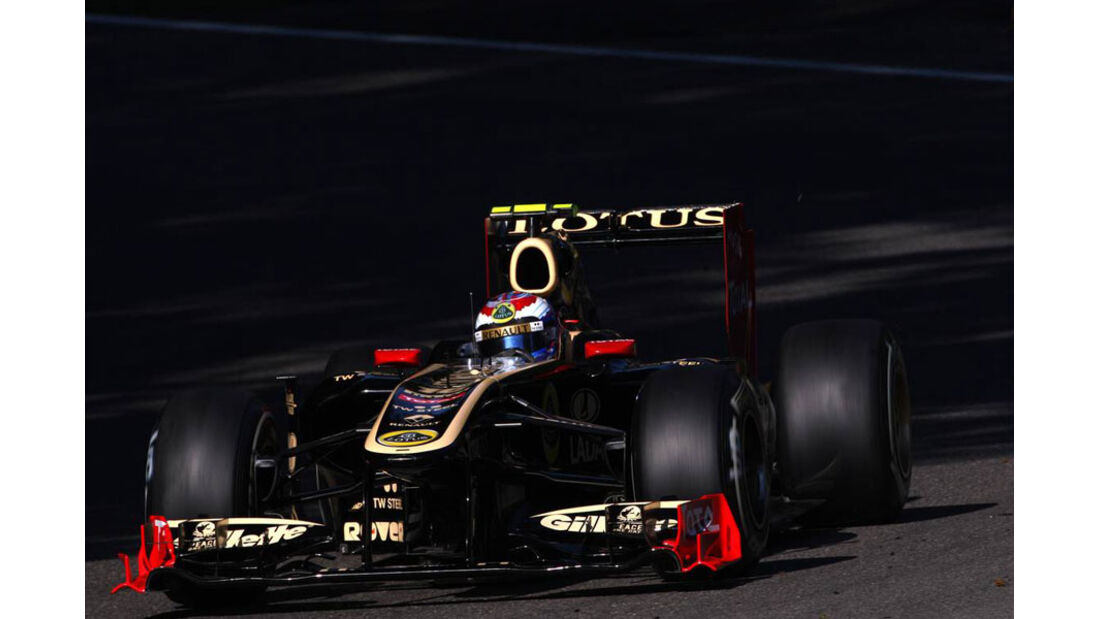Vitaly Petrov - GP Italien - Monza - 9. September 2011