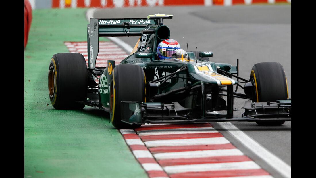 Vitaly Petrov GP Kanada 2012