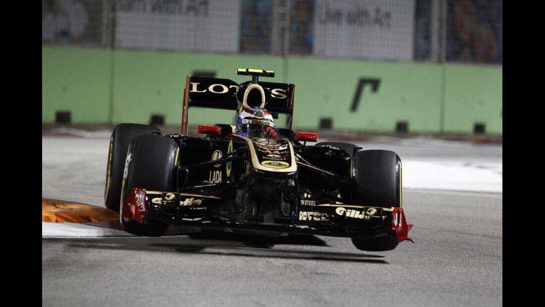 Vitaly Petrov GP Singapur 2011