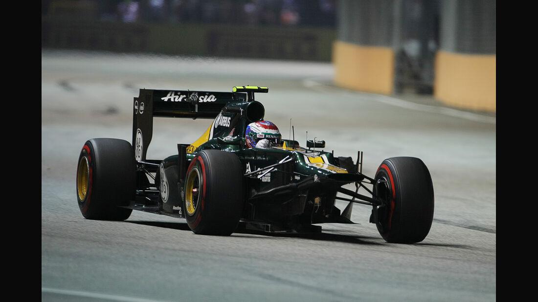 Vitaly Petrov - GP Singapur 2012