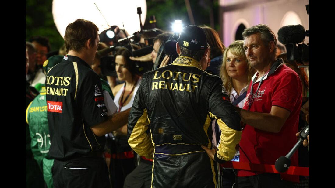 Vitaly Petrov - GP Singapur - 24. September 2011