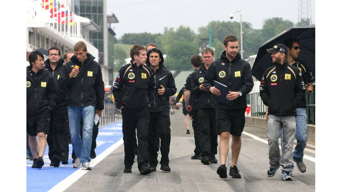 Vitaly Petrov - GP Ungarn - Formel 1 - 28.7.2011