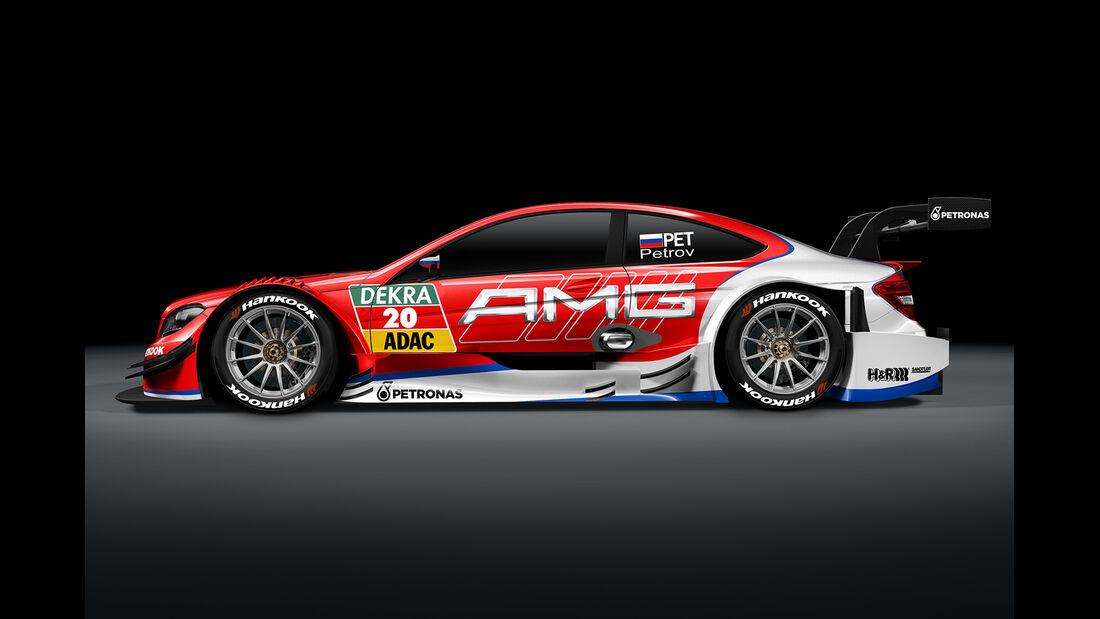 Vitaly Petrov - Mercedes AMG DTM C-Coupé - DTM 2014
