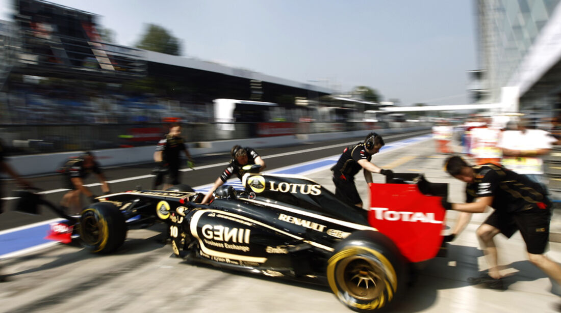 Vitaly Petrov Renault GP Italien 2011