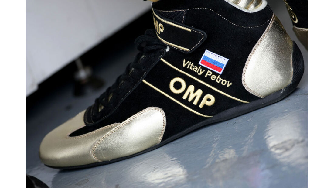 Vitaly Petrov Schuh - GP Kanada 2011