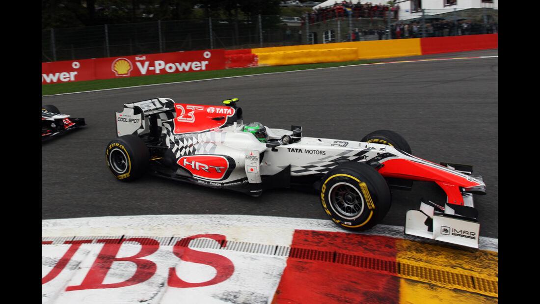 Vitantonio Liuzzi GP Belgien 2011