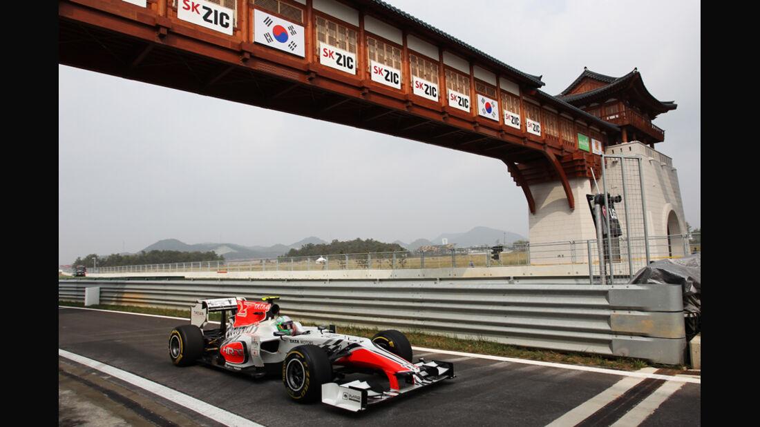 Vitantonio Liuzzi GP Korea 2011