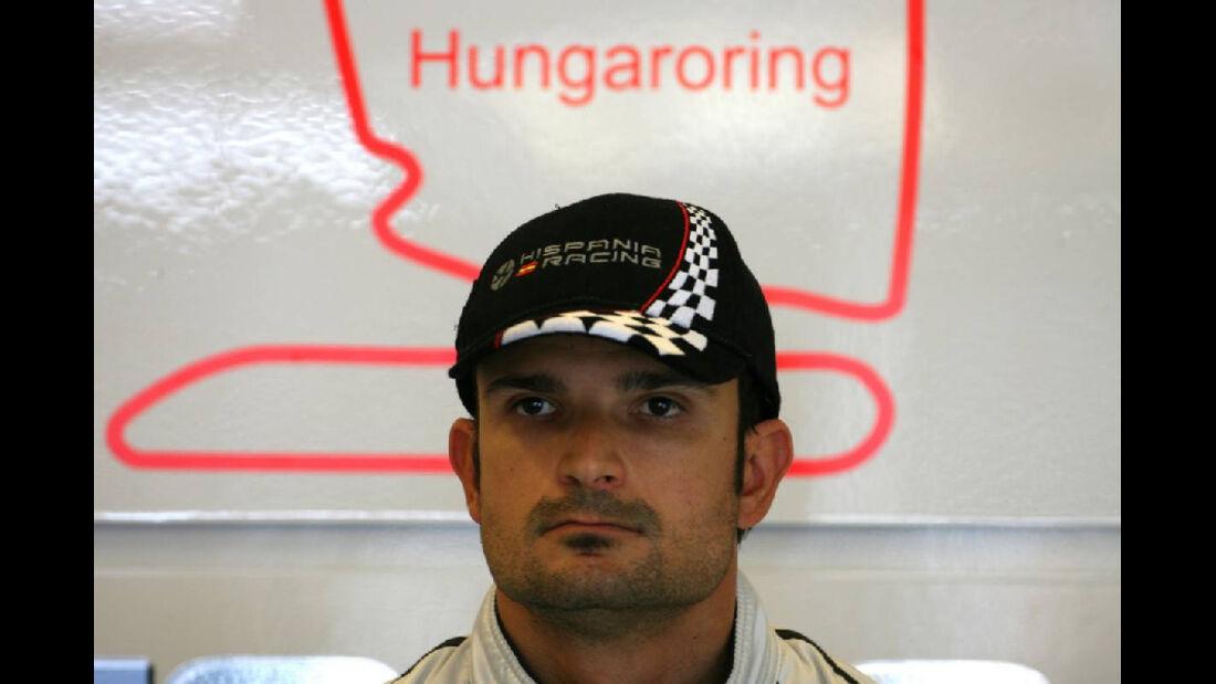 Vitantonio Liuzzi - GP Ungarn - Formel 1 - 29.7.2011
