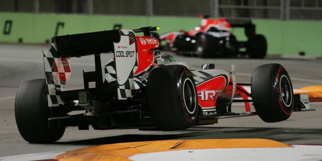 Vitantonio Liuzzi HRT GP Singapur 2011