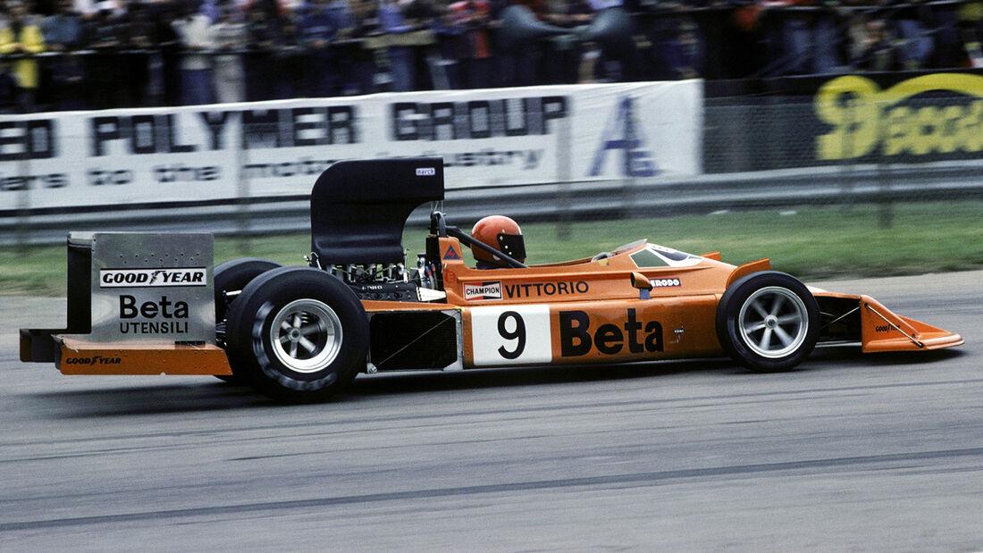 Vittorio Brambilla - March 751 - GP England 1975