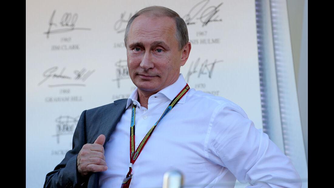 Vladimir Putin - GP Russland 2014