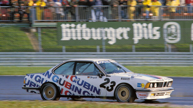 Volker Strycek - BMW 635 CSi - DTM 1984