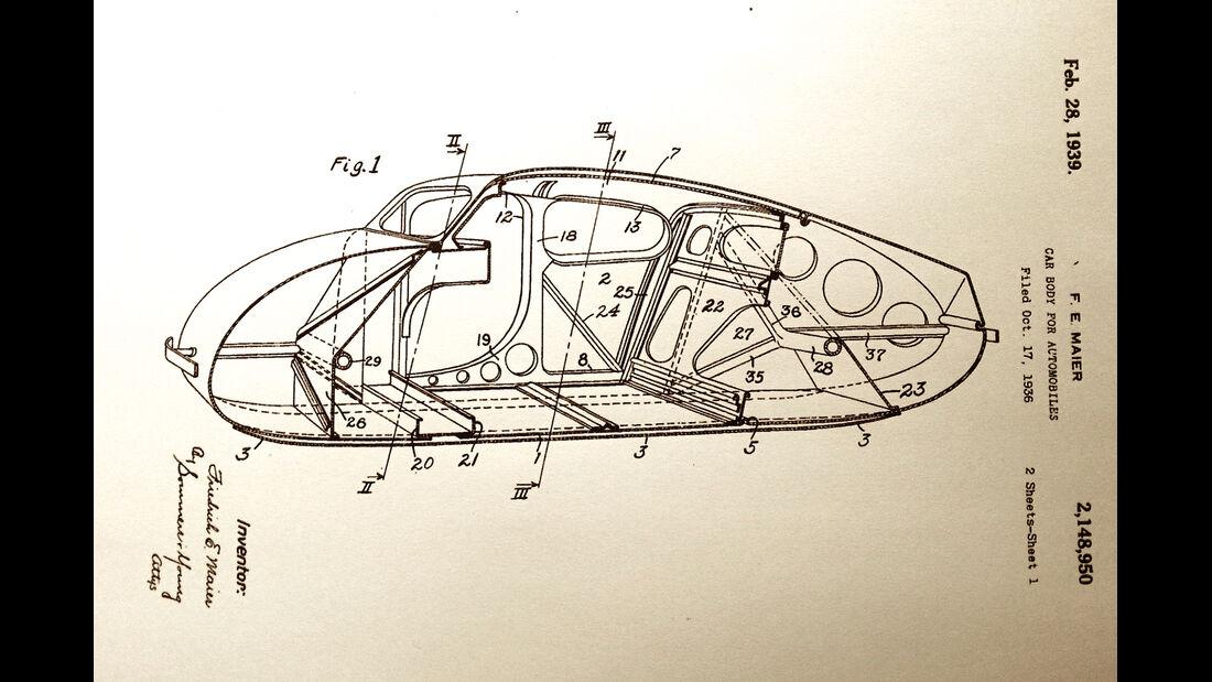 Volks-Wagen Prototyp, Friedrich Eugen Maier, Historie