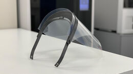 Volkswagen - 3D Druck - Corona-Hilfe - Gesichtsschild - 2020
