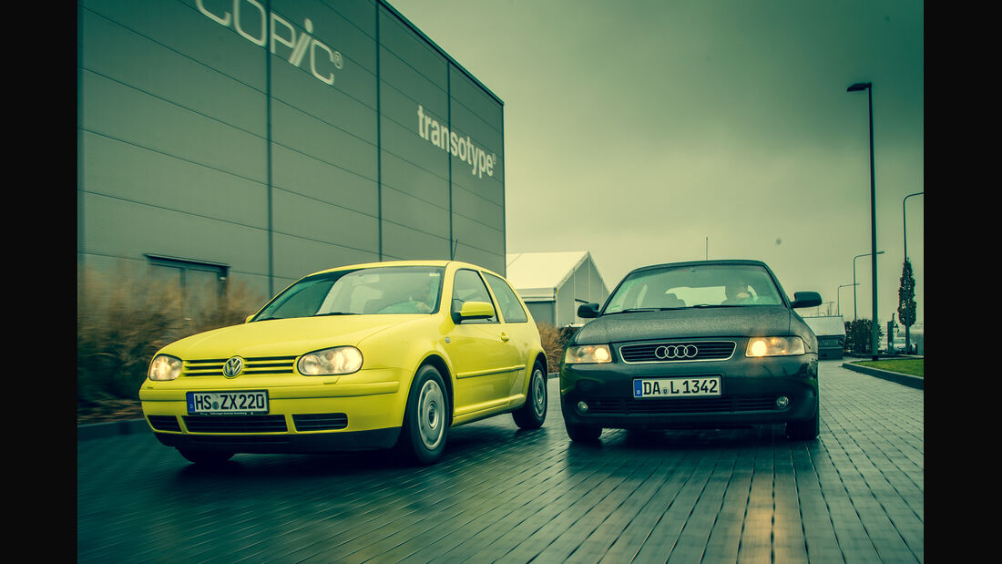 Volkswagen Golf 1.9 TDI, Audi A3 1.9 TDI,