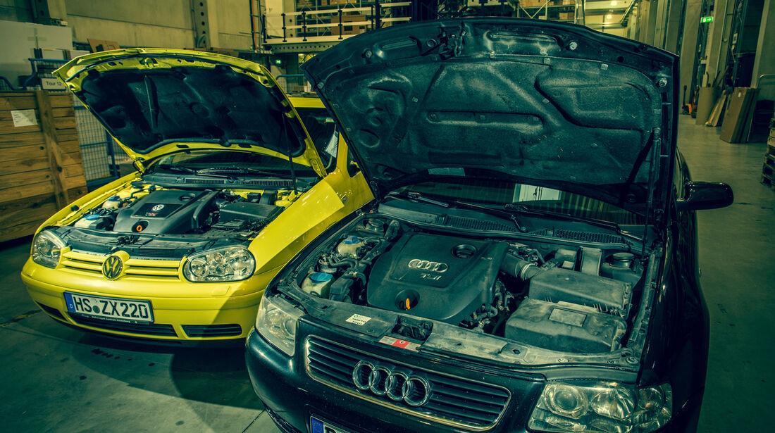 Volkswagen Golf 1.9 TDI, Audi A3 1.9 TDI, Motor
