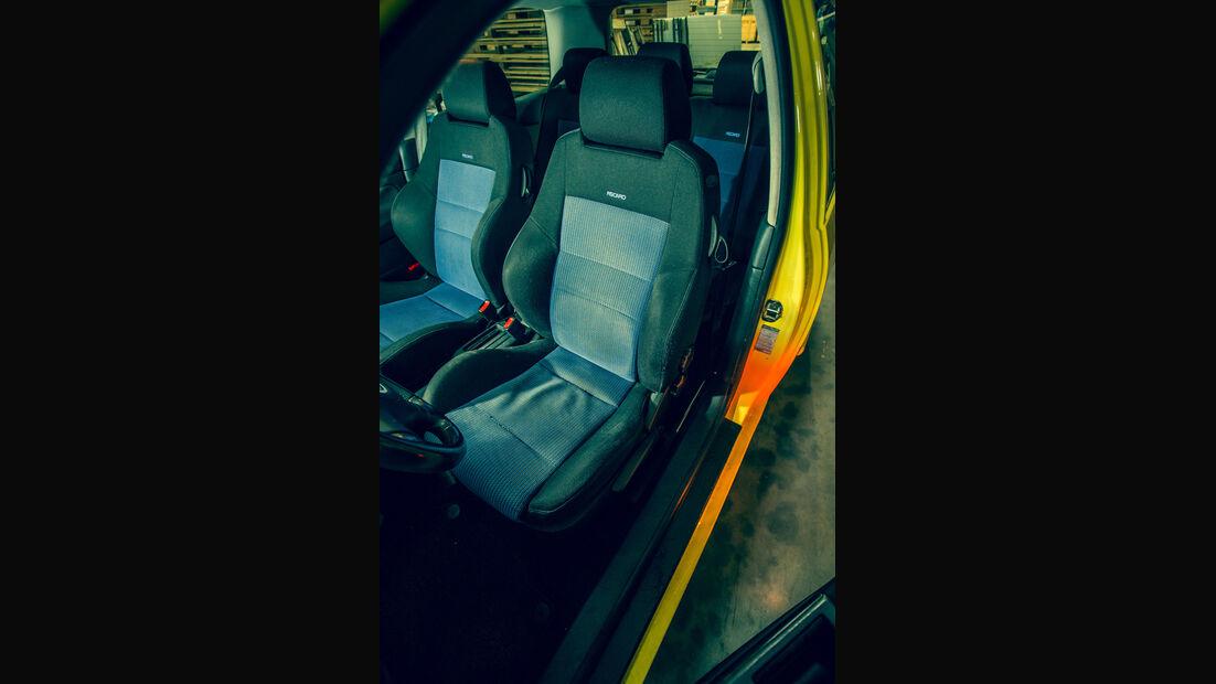 Volkswagen Golf 1.9 TDI, Fahrersitz