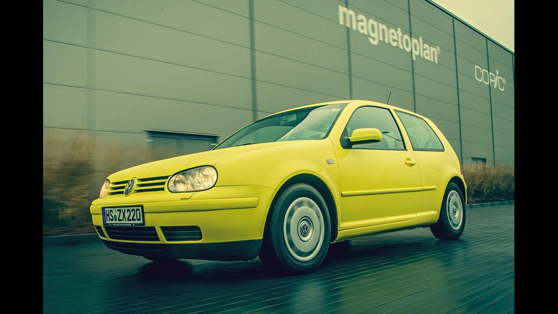 Volkswagen Golf 1.9 TDI, Frontansicht