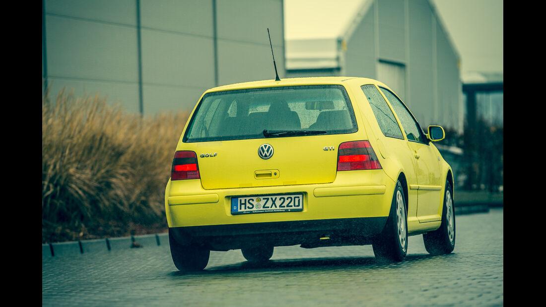 Volkswagen Golf 1.9 TDI, Heckansicht