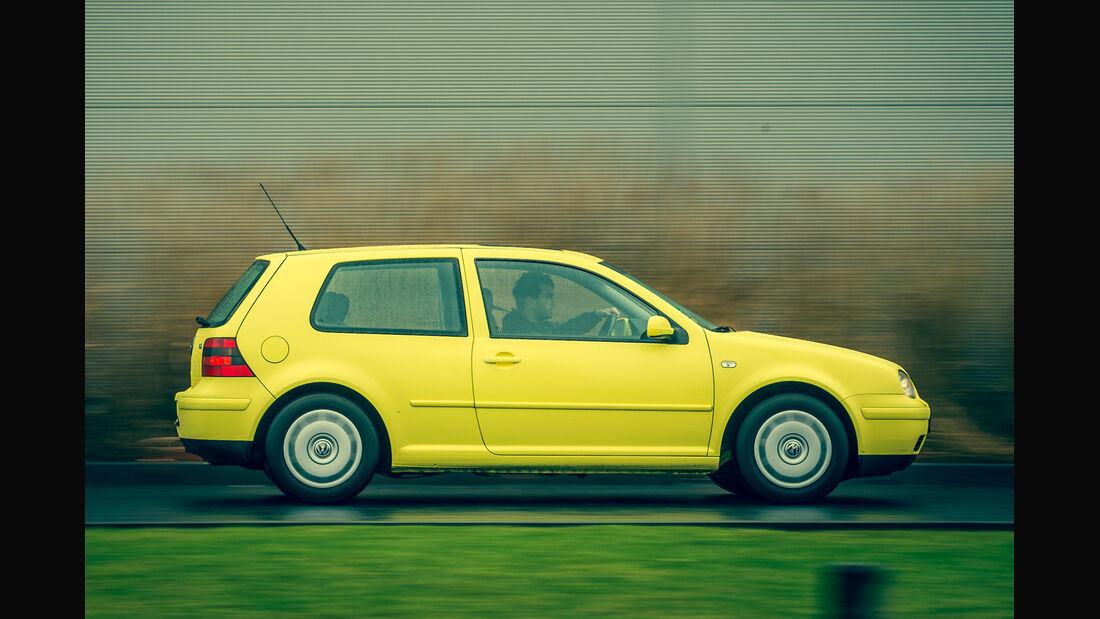 Volkswagen Golf 1.9 TDI, Seitenansicht