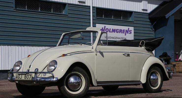 Foto Oldtimer Auto Car Vw Käfer